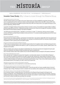 RF Investor Success Story